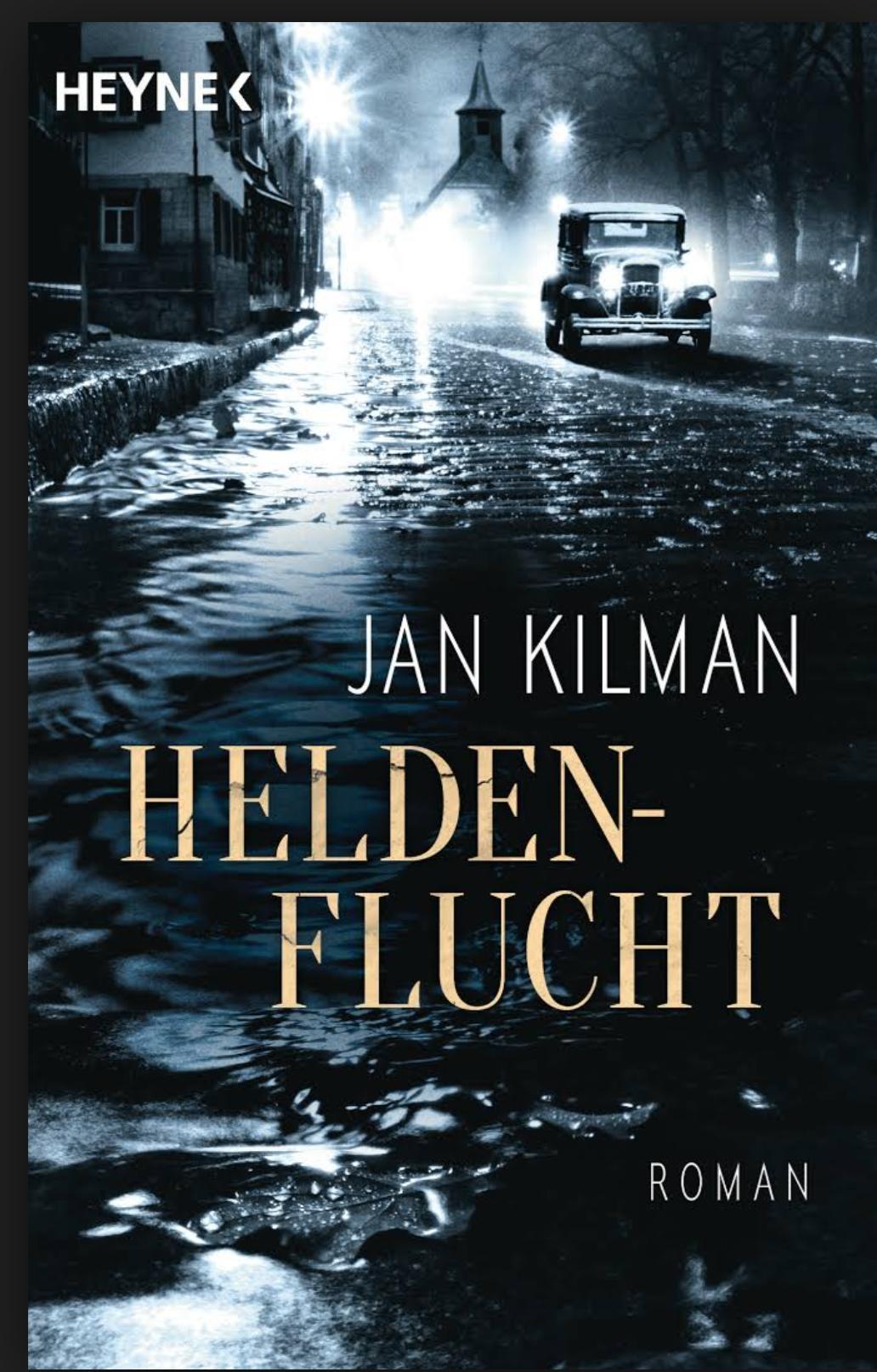 """Buchcover """"Heldenflucht"""""""