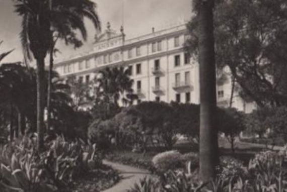 Alte Aufnahme Grandhotel Angst