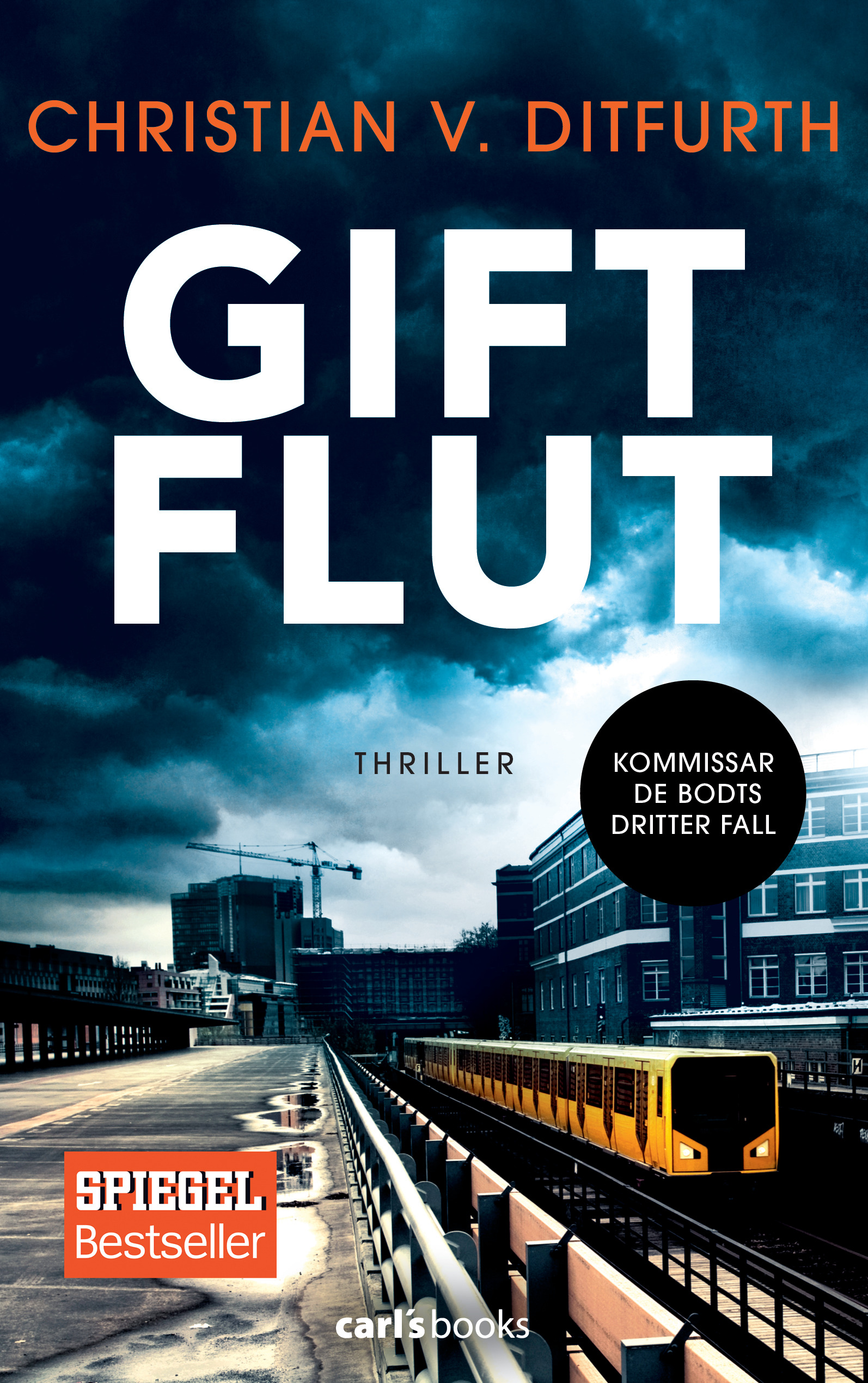 Cover Giftflut von Christian Ditfurth