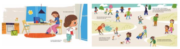 Kinderbuch zu Corona